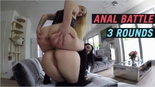 Hemmungslose Teenyschlampe will Outdoorsex ANAL BATTLE 3 RUNDEN ATM GER  LUCY CAT